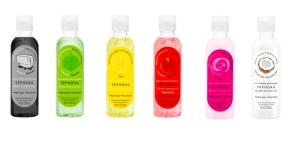 Micelární voda, gel a mléko, Sephora, info o ceně v prodejně.