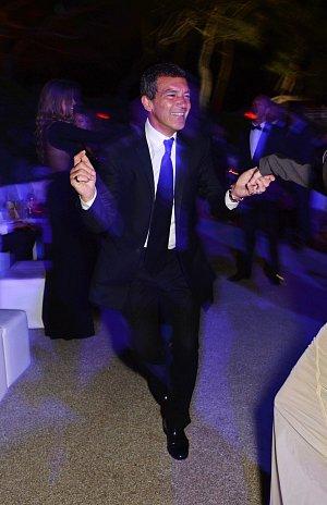 Antonio Banderas byl v rozverné náladě