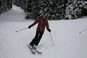 Lucie Křížková má k zimním sportům velmi kladný vztah.