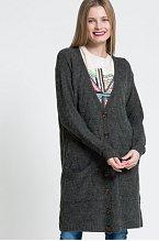 Dlouhý svetr na knoflíky, Vero Moda, Answear.cz, cena 899 Kč.