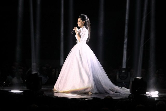 Lucie Bílá jako nevěsta