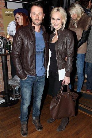 Modelka Barbora Vida s manželem Přemkem
