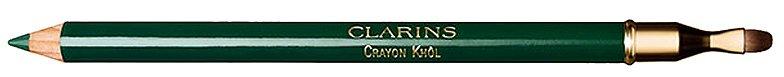 Tužka na oči se štětečkem Vente Crayon Khôl Eye Pencil odstín 09 Intense Green, Clarins, 420 Kč