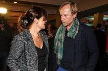 Rodena přišla podpořit jeho partnerka Jana Krausová.