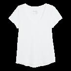 Bílé tričko, Lindex, cena 249 Kč.
