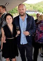 Martha Issová s přítelem Davidem Ondříčkem