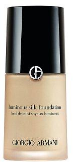 Dlouhotrvající rozjasňující make-up Colour Luminious Silk Foundation, Giorgio Armani, 30 ml 1700 Kč