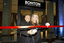 Manželé Olga a Jiří Menzelovi na otevření studia Bomton Florentinum