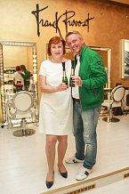S majitelkou salonu Franck Provost Marií Mixovou
