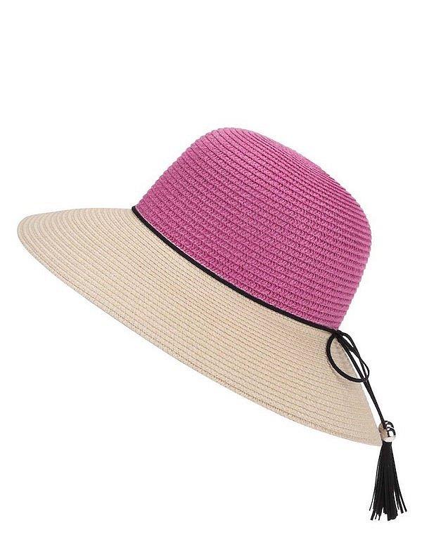 Slaměný klobouk INVUU London, ZOOT.cz, cena 419 Kč.