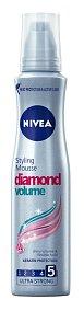 Tužidlo na vlasy Diamond Volume, Nivea, 250 ml, 94,90 Kč