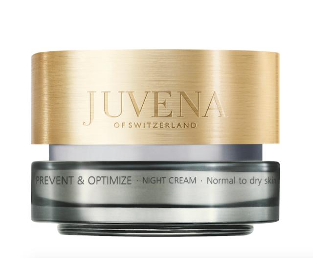 Noční péče JUVENA Prevent & Optimize Night Cream, k dostání v sítích parfumérií Fann, cena 2050 Kč.