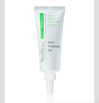 NeoStrata Spot Treatment gel k lokálnímu ošetření projevů akné s kyselinou salicylovou, kyselinou mandlovou a vitaminem A; www.neostrata.cz, 15g za 690 Kč.