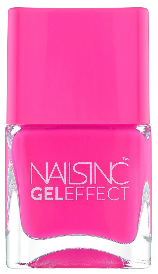 Lak na nehty Gel Effect s gelovým efektem, odstín Berkley Street Bottle, Nails inc, 400 Kč