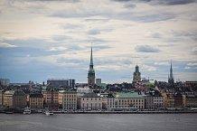 Stockholm se Jitce zalíbil na první pohled. Není divu, je to jedno z nejkrásnějších měst Evropy.