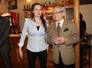 Jednou z oblíbených hereček Petra Weigla je Markéta Hrubešová