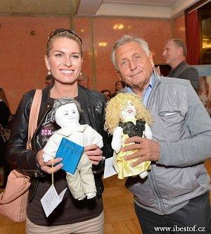 Svoje panenky si našli i Olga a Jiří Menzelovi.