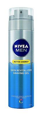 Gel na holení Skin Revitalizer Shaving Gel, Nivea Men, 200 ml 116 Kč