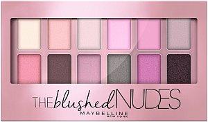 Vytvořte si romantický, a přesto odvážný look s narůžovělými odstíny. Díky paletce Blushed NUDE to zvládnete jako pravá profesionálka. Poslouží vám na denní i večerní líčení. (Maybelline New York, 350 Kč)