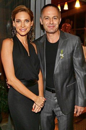 Verešová s manželem Danielem Volopichem, který v létě oslaví významné životní jubileum.