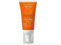 Novinka Anti-age SPF 50+, jde o kombinaci sluneční ochrany s přípravkem proti vráskám, Avene, 50 ml za 549 Kč.
