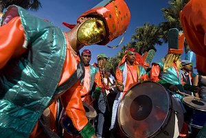 Carnival in Santo Domingo.