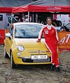 Na závody přijela Lejla svým vlastním vozem Fiat 500, z něhož je naprosto nadšená