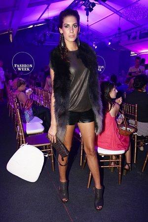 Aneta Vignerová byla jednou z nejlépe oblečených krásek večera.