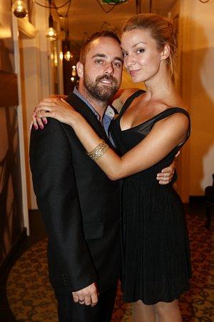 Petr Kutheil s přítelkyní Markétou