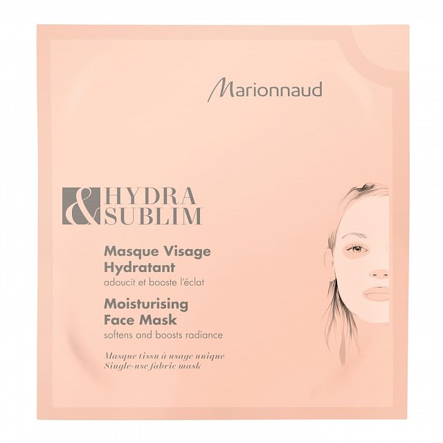 Hydratační maska, která účinně hydratuje a rozjasní pleť. K dostání v síti Marionnaud za cenu 119 Kč.