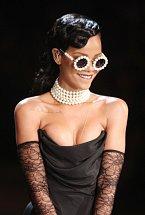 Zpěvačka Rihanna.