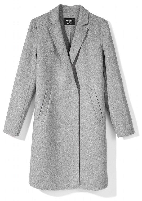Teplý kabátek Reserved, informace o ceně v obchodě.