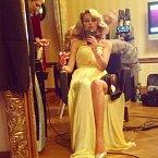 """Vlasy jsou korunou krásy. """"Finišujem!"""" okomentovala Simona tuto fotku."""