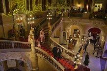 Překrásné prostory jen umocnily patřičnou noblesu a eleganci.