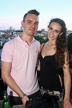 Tereza Skoumalová s tanečním partnerem Martinem Šindlerem