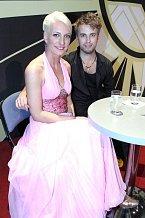 Anna Polívková se svým tanečním partnerem Michalem Kurtišem