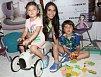 Eva Decastelo spojila příjemné s užitečným - děti se pobavily a ona natočila reportáž