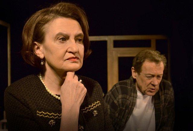 Eva Holubová s Oldřichem Víznerem