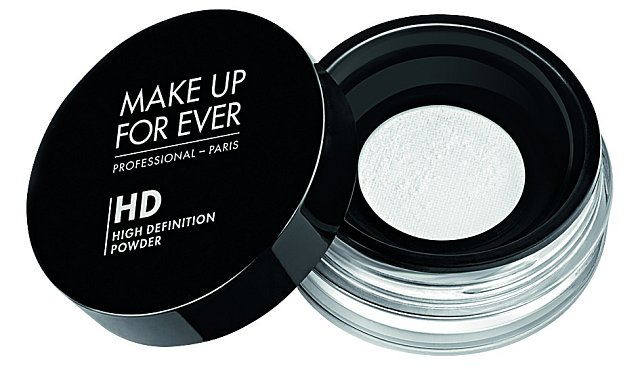 Sypký fixační pudr HD High Definition Micrifinish Powder, Make Up For Ever, 850 Kč