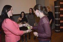 Marketingová specialistka Kateřina Kykalová se postarala nejen o bohatou tombolu.