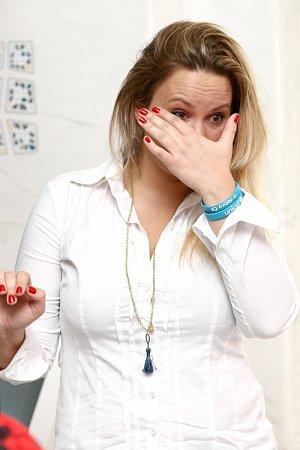 Jitka Čvančarová se neudržela a rozplakala se.