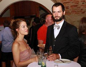 Hana Holišová s přítelem