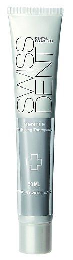emná bělicí zubní pasta Gentle, Swissdent, 50 ml 349 Kč