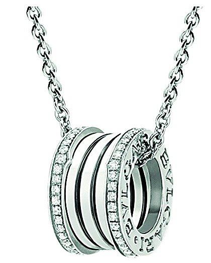Nejoblíbenějším šperkem je náhrdelník B.zero1 od manžela. BULGARI, INFO O CENĚ V OBCHODĚ