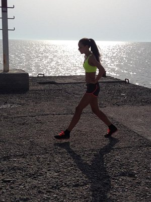 Tereza Chlebovská si bez sportu svůj život neumí představit.