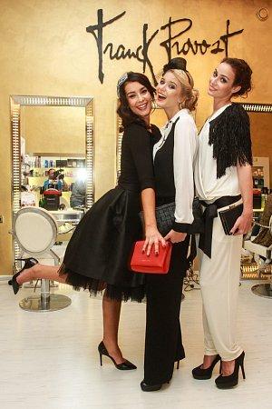 Finalistky České Miss se nechaly hýčkat v kadeřnickém salonu Franck Provost.