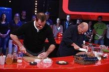 Miroslav Etzler poměřil síly se známým šéfkuchařem.