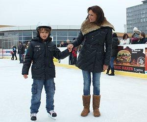 Syn Jany Adamcové je velmi akční dítě.