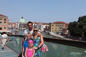 S rodinou jezdí Šebrle do Itálie už mnoho let.