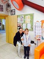 Stejnou školu jako Kristian navštěvuje i syn Venduly Svobodové
